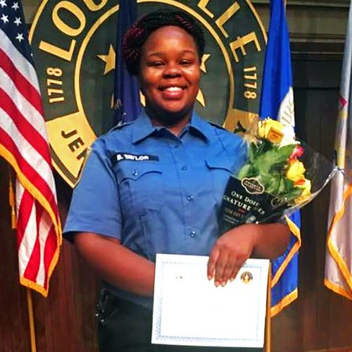 Breonna Taylor during a graduation ceremony in Louisville, Ky.